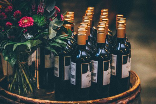 corporate-event-wine-bottles