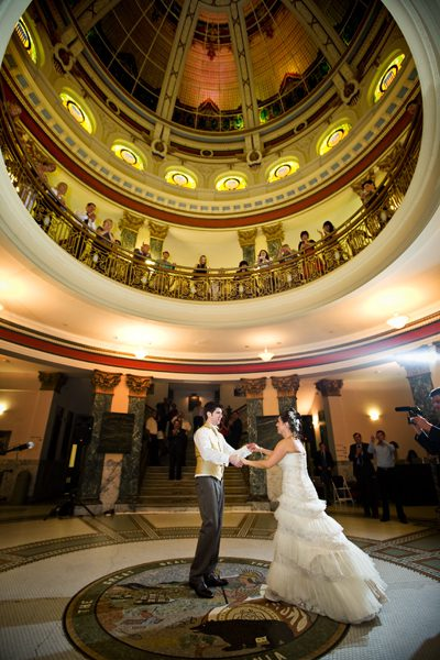 history-museum-rotunda-couple-dancing-dome