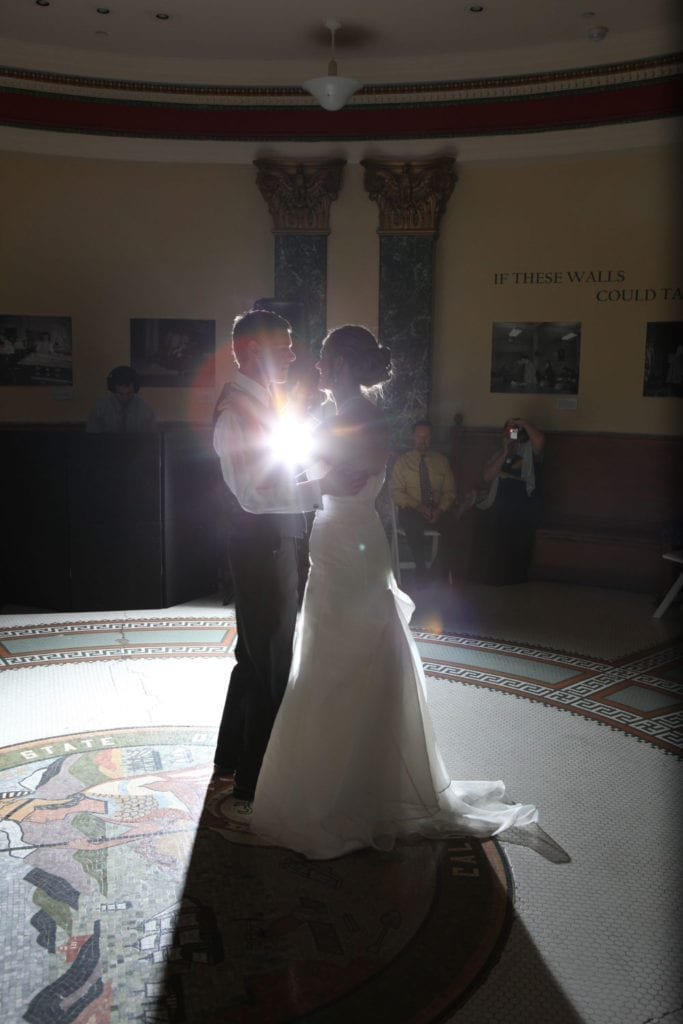 history-museum-rotunda-couple-silhoutte-dancing