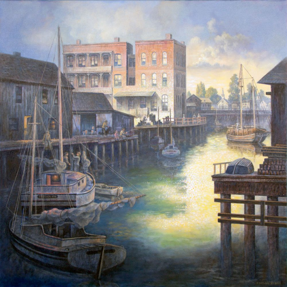 ships-of-the-world-painting-wharf