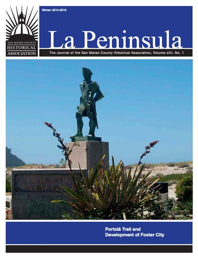 Cover of La Peninsula Portola and Foster Winter 2015