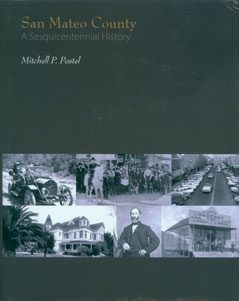 Cover of San Mateo County Sesquicentennial History