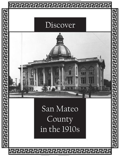 Cover of Discover San Mateo County in the 1910s activity book