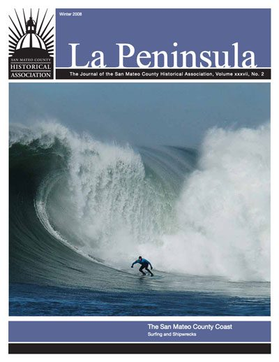 Cover of La Peninsula Winter 2008 Surfing and Shipwrecks