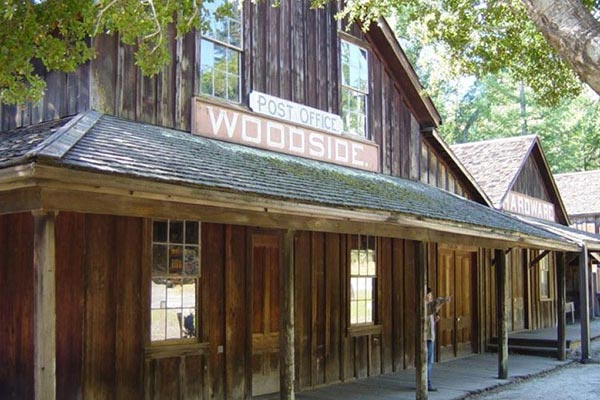 Exterior of the Woodside Store