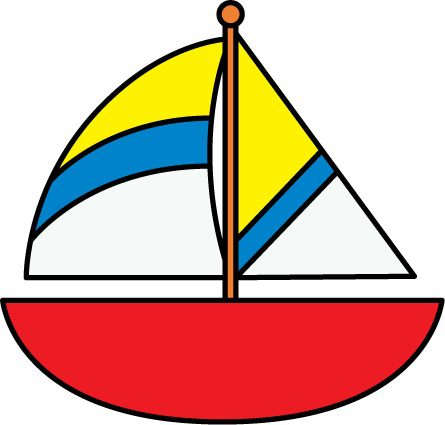 clipart of a sailboat