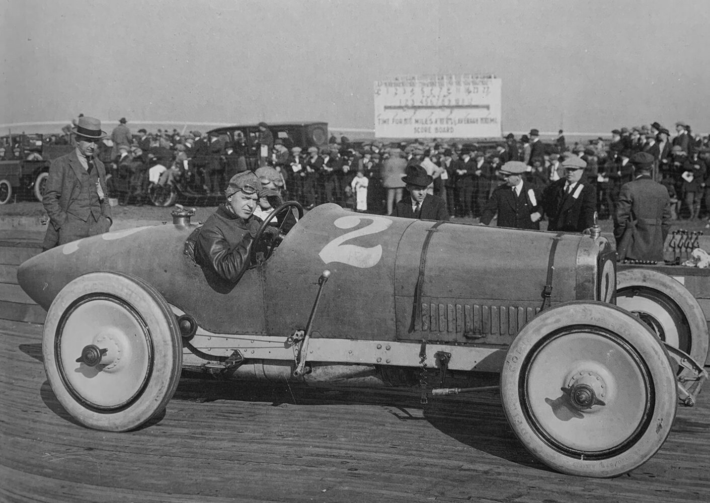 Race car in the 1920s